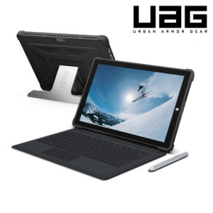 The UAG Scout Rugged Folio Case in black keeps your Microsoft Surface Pro 3 protected with a lightweight, but highly protective honeycomb composite interior, with a tougher outer case, ensuring the perfect combination of style and security.