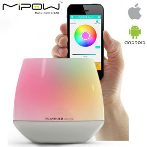 The beauty of a candle, yet the wonders of digital - the 3 pack of MiPow Playbulb Candles feature LEDs to create a huge variety of colours to suit your mood and can even be blown out like a real candle. It is handy, smart and more importantly... safe!