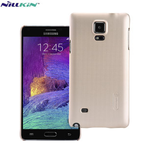 Coque Samsung Galaxy Note 4 Nillkin Super Frosted - Dorée