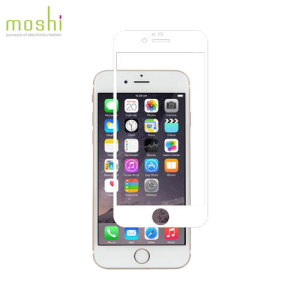 Protection d'écran en Verre iPhone 6 Plus Moshi iVisor - Blanche