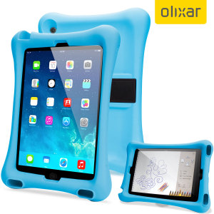 Let your child use your iPad Mini 3 / 2 / 1 without worrying with the extremely robust and fun Olixar Child-Friendly Silicone Case in blue. With anti-shock corners the Big Softy protects against the rigours of everyday use.
