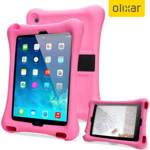 Let your child use your iPad Mini 3 / 2 / 1 without worrying with the extremely robust and fun Olixar Child-Friendly Silicone Case in pink. With anti-shock corners the Big Softy protects against the rigours of everyday use.