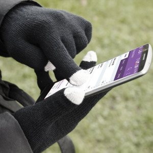 The Smart TouchTip Women's Gloves allow you to operate your touchscreen device while wearing gloves, so you have full use of your smartphone or tablet outside and still keep your hands warm.