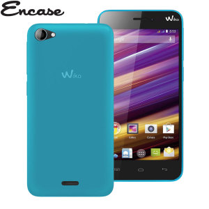 Custom moulded for the Wiko Jimmy. This blue FlexiShield case from Encase provides a slim fitting stylish design and durable protection against damage, keeping your Jimmy looking great at all times.