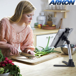 Arkon Mini Table Tablet Stand with Quick Release Holder