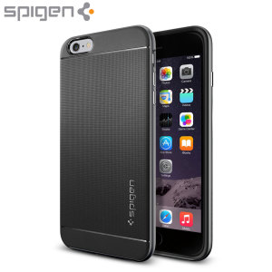 Coque iPhone 6 Plus Spigen Neo Hybrid – Gunmetal