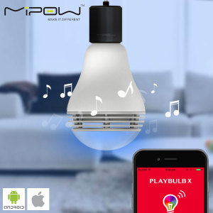Altavoz Bluetooth bombilla inteligente MiPow Playbulb Color