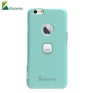 The iSelf iPhone 6S / 6 selfie case in green from Kisomo allows you to capture photos your way. Integrated into this protective polycarbonate shell are two intuitively designed camera shutter buttons which let you take photos like never before.