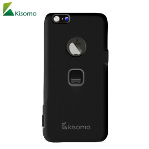 The iSelf iPhone 6S Plus / 6 Plus selfie case in black from Kisomo allows you to capture photos your way. Integrated into this protective polycarbonate shell are two intuitively designed camera shutter buttons which let you take photos like never before.