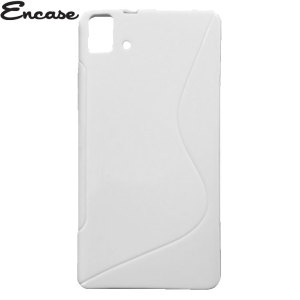 Encase FlexiShield BQ Aquaris E5 4G Case - White