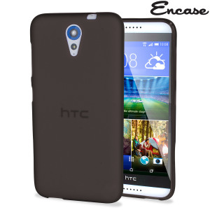 Keep your HTC Desire 620 protected from damage with the durable and attractive smoke black gel silicone TPU case by FlexiShield.