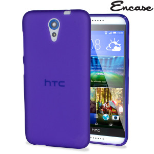 Keep your HTC Desire 620 protected from damage with the durable and attractive purple silicone TPU gel case by FlexiShield.