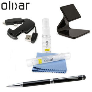 Olixar have assembled some of the most essential smartphone accessories for this pack. Featuring a travel cleaning kit, micro-suction stand, Lightning / Micro USB keychain and a stylus pen, you'll be sure to have the ultimate smartphone experience.