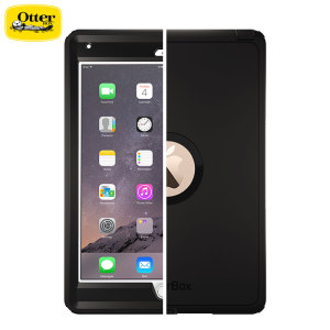 Drop-proof your magical, new must-have iPad Air 2 with the black OtterBox Defender Series for the Apple iPad Air 2. Rugged and stylish, this tough case will keep your Air 2 looking good on the inside and out.
