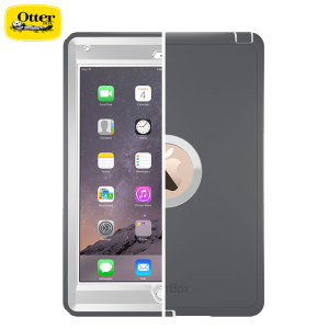 Drop-proof your magical, new must-have iPad Air 2 with the white glacier OtterBox Defender Series for the Apple iPad Air 2. Rugged and stylish, this tough case will keep your Air 2 looking good on the inside and out.