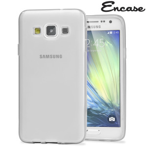 Custom moulded for the Samsung Galaxy A5 2015. This white Encase FlexiShield case provides a slim fitting stylish design and durable protection against damage, keeping your device looking great at all times.