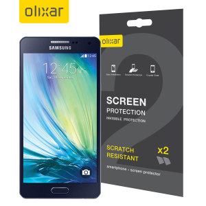 Keep your Samsung Galaxy A5 2015 screen in pristine condition with this Olixar scratch-resistant screen protector.