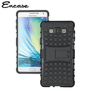 Protect your Samsung Galaxy A7 2015 from bumps and scrapes with this black ArmourDillo case. Comprised of an inner TPU case and an outer impact-resistant exoskeleton, with a built-in viewing stand.
