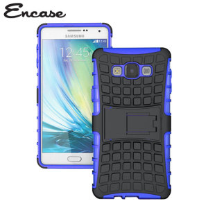 Protect your Samsung Galaxy A7 2015 from bumps and scrapes with this blue ArmourDillo case. Comprised of an inner TPU case and an outer impact-resistant exoskeleton, with a built-in viewing stand.