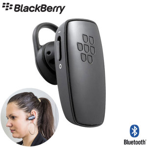 Oreillette Bluetooth BlackBerry HS250 Universelle - Noire