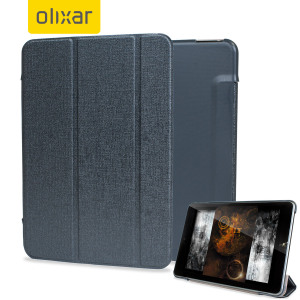 Protect and stand your Nokia N1 Tablet with this grey Stand and Type Case, suitable for viewing movies and typing.