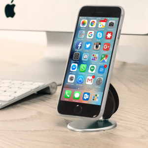 A perfect pocket-sized folding stand for your smartphone. Now you can go anywhere and have your smartphone positioned at any angle you wish, right where you need it. Then, when you're good to go, so is the Standfast - in seconds!