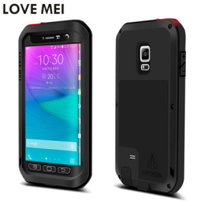 Protect your Galaxy Note Edge with one of the toughest and most protective cases on the market, ideal for helping to prevent possible damage - this is the black Love Mei Powerful Protective Case.