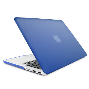 "The Olixar ToughGuard Hard Case in blue gives your MacBook Pro Retina 13 inch the protection it needs without adding any unnecessary bulk. Compatible with the MacBook Pro 13"" with Retina Display A1502/A1425, versions 2012 to 2015."