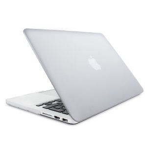 "The Olixar ToughGuard Hard Case in clear gives your MacBook Pro Retina 13 inch the protection it needs without adding any unnecessary bulk. Compatible with the MacBook Pro 13"" with Retina Display A1502/A1425, versions 2012 to 2015."