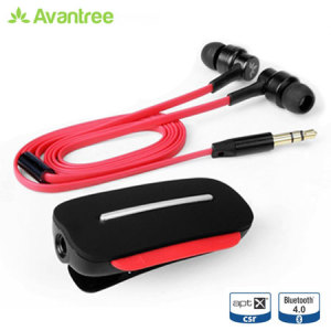 Avantree Clipper Bluetooth Stereo Headset - Black