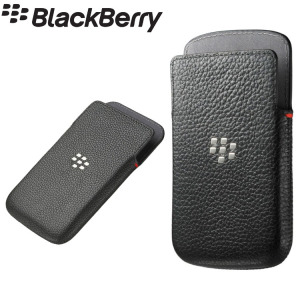 BlackBerry Classic Carrying Case Pouch - Black