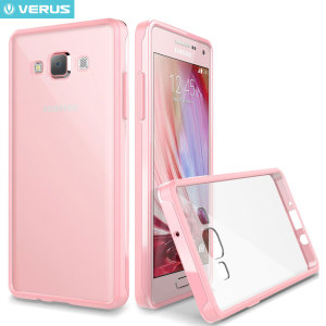 Protect your Samsung Galaxy A7 2015 with this precisely designed crystal baby pink case from Verus. Made with a sturdy yet minimalist design, this see-through case offers protection for your phone while still revealing the beauty within.