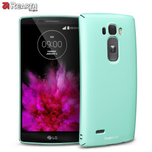 Provide your LG G Flex 2 with ultra-thin, tough snap-on protection with this Ringke Slim mint polycarbonate case.