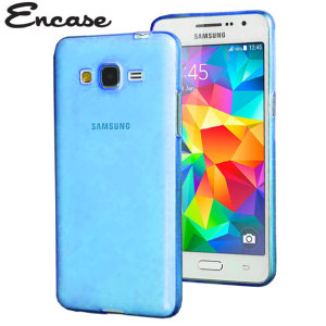 Custom moulded for the Samsung Galaxy Grand Prime. This blue Encase FlexiShield case provides a slim fitting stylish design and durable protection against damage, keeping your phone looking great at all times.
