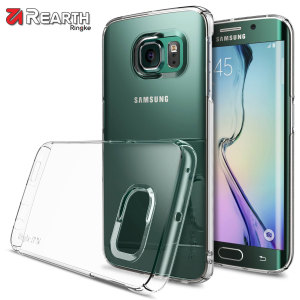 Provide your Samsung Galaxy S6 Edge with ultra-thin, tough snap-on protection with this Ringke Slim crystal clear polycarbonate case.
