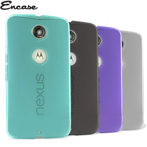 Pack de 4 Coques Nexus 6 Encase FlexiShield