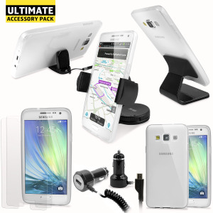 Pack Accessoires Samsung Galaxy A3 2015 Ultimate