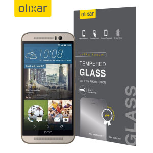 This ultra-thin tempered glass screen protector for the HTC One M9 by Olixar offers toughness, high visibility and sensitivity all in one package.