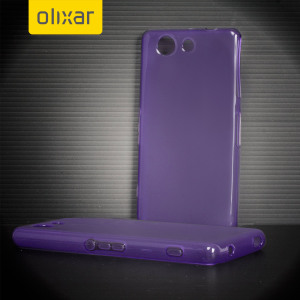 Custom moulded for the Sony Xperia A4, this purple FlexiShield case provides slim fitting and durable protection against damage.
