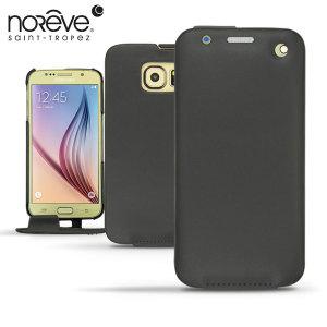 Mantenga su Samsung Galaxy S6 bien protegido con esta funda de cuero de alta calidad de la marca Noreve