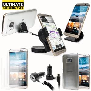 Ce pack ultime d'accessoires HTC One M9 comprend tous les indispensables pour votre smartphone. Ce pack a été conçu pour protéger et ranger votre HTC One M9 que ce soit à la maison, au bureau ou même dans votre véhicule.