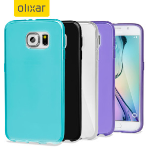 Custom moulded for the Samsung Galaxy S6. This 4 Pack of FlexiShield cases by Olixar provides a slim fitting stylish design and protection against damage, keeping your device looking great at all times. Choose a colour to suit your mood.
