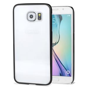 Duradera y ultra-ligero, esta funda para Samsung Galaxy S6 en color oro y con trasera transparente, ofrece un look y una protección de primera calidad. Con una estructura de policarbonato resistente a los arañazos.