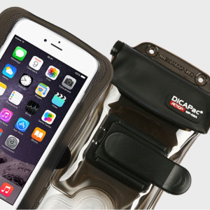 The DiCAPac Action Universal Waterproof Case for Smartphones is a protective case providing 100% smartphone waterproofing and touchscreen operation up to a size of 5.7 inches for activities that require near water or even underwater adventures.
