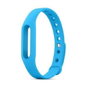 Cambie la correa de su Xiaomi Mi Band por esta en color azul. Simplemente retire el medidor de actividad y colóquelo en su nueva correa.