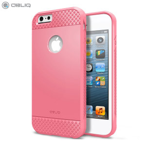 The Obliq Flex Pro Shell Case in pink is a stylish and ergonomic protective case for the iPhone 6S Plus / 6 Plus, providing impact absorption and fantastic grip due to the textured surface.