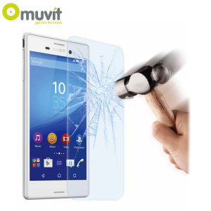 With superb screen protection and rounded edges this premium tempered glass protector from Muvit is the perfect choice for the Sony Xperia M4 Aqua.