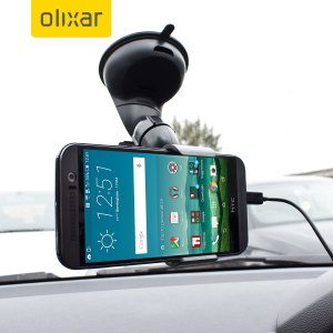 The perfect in-car accessory pack for your HTC One M9. Featuring a case compatible car holder mount, a 2 amp USB car charger and a 1m Micro USB cable; you'll have everything you need to hold and charge your phone while driving.