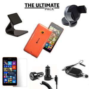 The Ultimate Pack for the Microsoft Lumia 535 consists of fantastic must have accessories designed specifically for the Lumia 535.