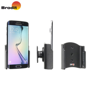 Use your Samsung Galaxy S6 Edge safely in your vehicle with this small, neat and discreet Brodit Passive holder, complete with tilt swivel. Also compatible with the Galaxy S6 Edge.